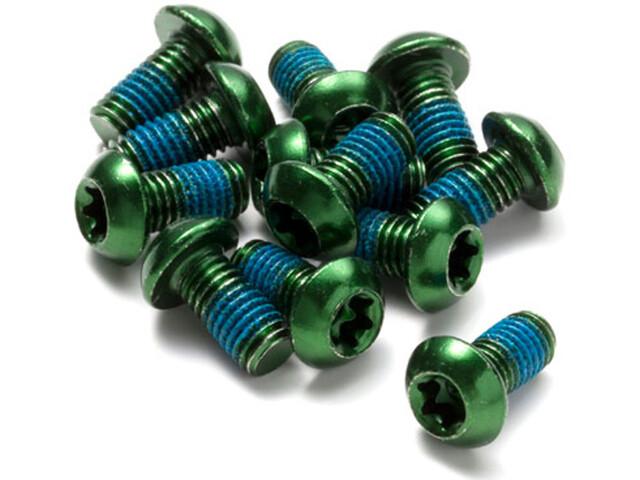 Reverse Bremsscheibenschrauben grün